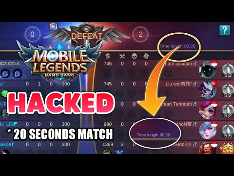 ML Hacked ?| 20 seconds Match | Mobile Legends bang bang