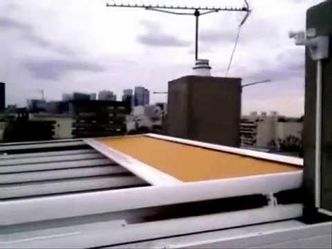 store de veranda anti chaleur filtre uv youtube. Black Bedroom Furniture Sets. Home Design Ideas