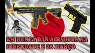COMPRAR AIRSOFT NA LIBERDADE E 25 DE MARÇO - SÃO PAULO