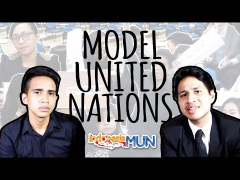 Model United Nations: How It Goes