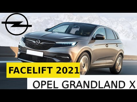 Opel Grandland X Facelift 2021 French German Suv Will Be Refreshed Youtube