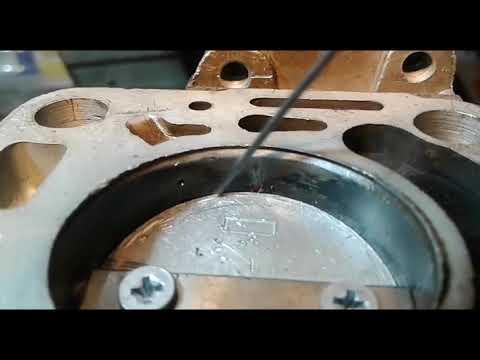 Ремонт карбюратора К 151 укладка заслонки и правка крышки