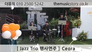 [더뮤직] 재즈트리오 야외 행사연주 추천곡 - Ceor…