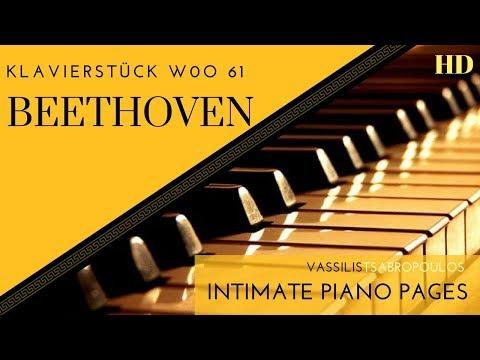 Beethoven, Klavierstück WoO 61/ V. Tsabropoulos