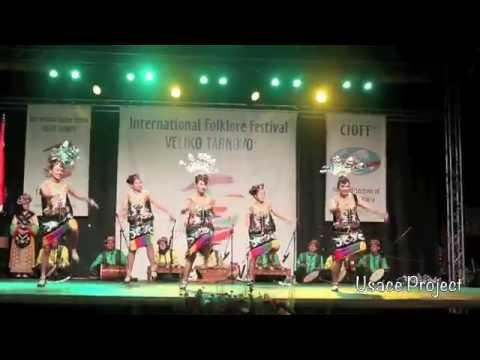 USACE Mandau - Enggang - Balian Dance for IFF Veliko Tarnovo 2014