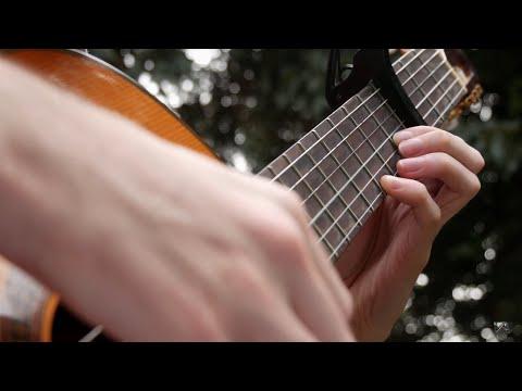 Ludovico Einaudi - Fly (Guitar Cover)