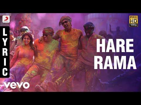 Arrambam  Hare Rama Lyric  Ajith, Nayantara
