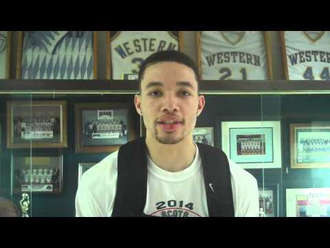 Corban MBB Post-Game Interview with Jeremiah Harris (New Hope)