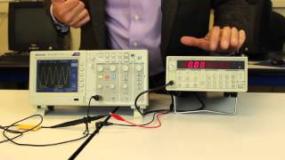 Lab 2 - Introduction to the function generator and the digital oscilloscopee