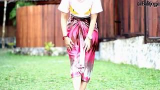 Tutorial To Wear Batik Twist @Batikjogja