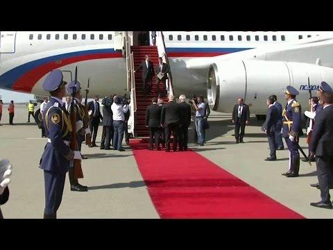 Президент России прибыл