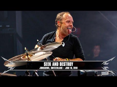 Metallica: Seek and Destroy (MetOnTour - Zurich, Switzerland - 2010) Thumbnail image