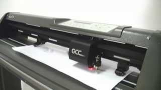 GCC Cutting Plotter - Die Cut Demo on Mac