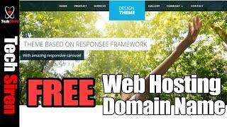 How to create a free website | get free hosting and domain name 2017