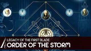 Legacy of the First Blade - Order of the Storm - Assassin's Creed Odyssey DLC Gameplay