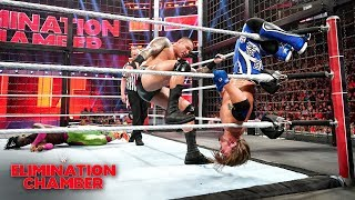 Randy Orton blasts AJ Styles with a ring-rattling RKO: WWE Elimination Chamber 2019 (WWE Network)