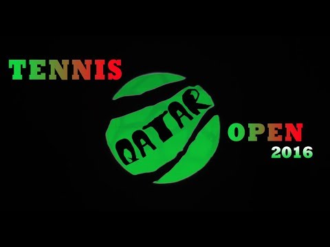🎾Qatar Total Open 2016, Doha - Shadow Theatre VERBA
