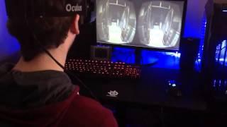 Лучшая реакция на ужасы в Oculus Rift
