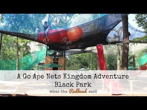 Go Ape Nets Kingdom - Black Park Country Park, Slough