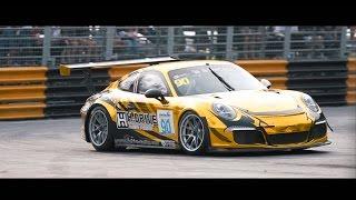 Bangsaen GrandPrix 2016 Porsche  991 GT3 Cup By H.Drive Racing Team