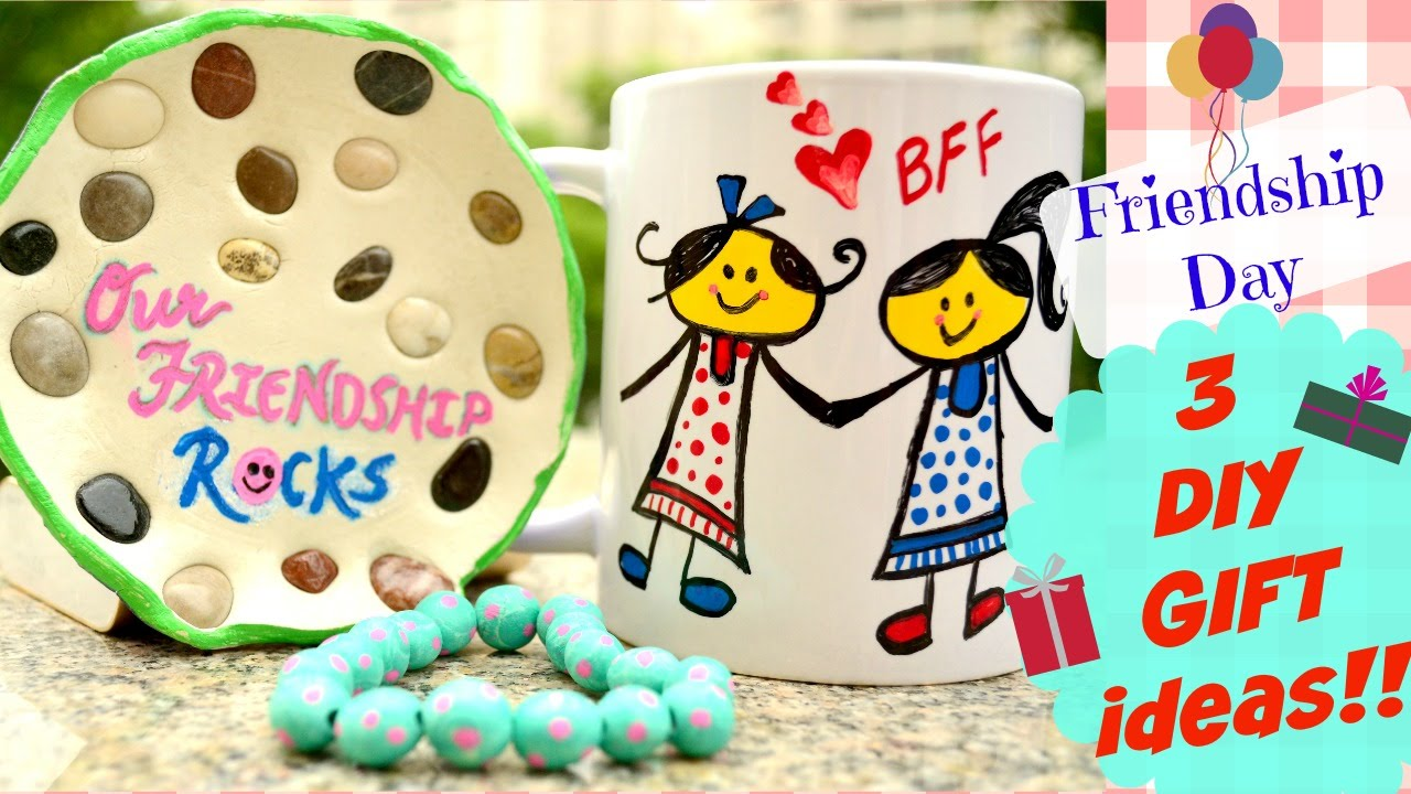 Diy 3 Friendship Day Handmade Gift Ideas Youtube