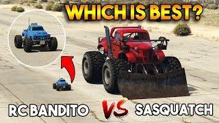 GTA 5 ONLINE : RC BANDITO VS SASQUATCH (WHICH IS BEST?)