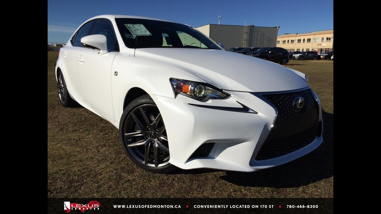 2016 Lexus Is 300 Awd F Sport Series 3 Review