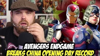 Avengers: Endgame Breaks China Opening Day Record!!!
