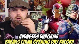 Avengers: Endgame Breaks China Opening Day Record!!!