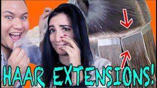 Tape EXTENSIONS zum SELBERMACHEN!!! mit Jodie Calussi
