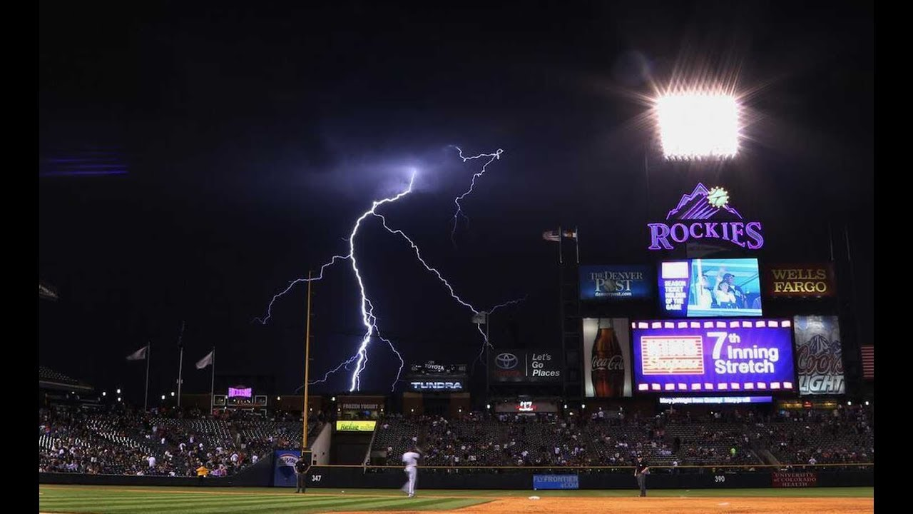 Mlb lightning strikes hd