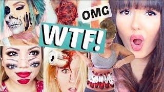 die 40 KRASSESTEN HALLOWEEN Make Ups!! 😱💉 | ViktoriaSarina