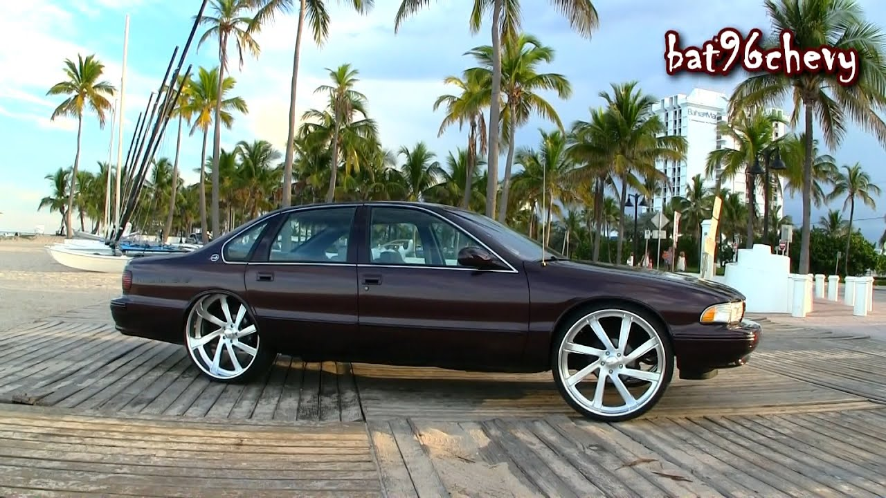 Dcm 1996 Impala Ss On 26 Quot Intro Billet Wheels 6 0 Ls