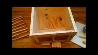 Transforming our extra Warre box into a bait hive
