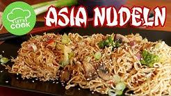 Gebratene Nudeln wie beim Asiaten 😍 schnell & einfach asiatisch kochen | Let's Cook