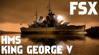 HMS KING GEORGE V DeltaSim FSX HD