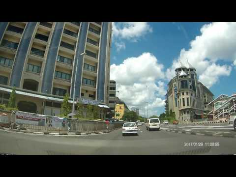 Testing HD CAM SJ5000+ roaming in Port Louis - Mauritius - 29/01/2017