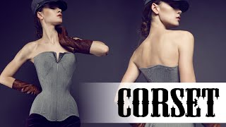 A real exclusive full classic corset size S-M