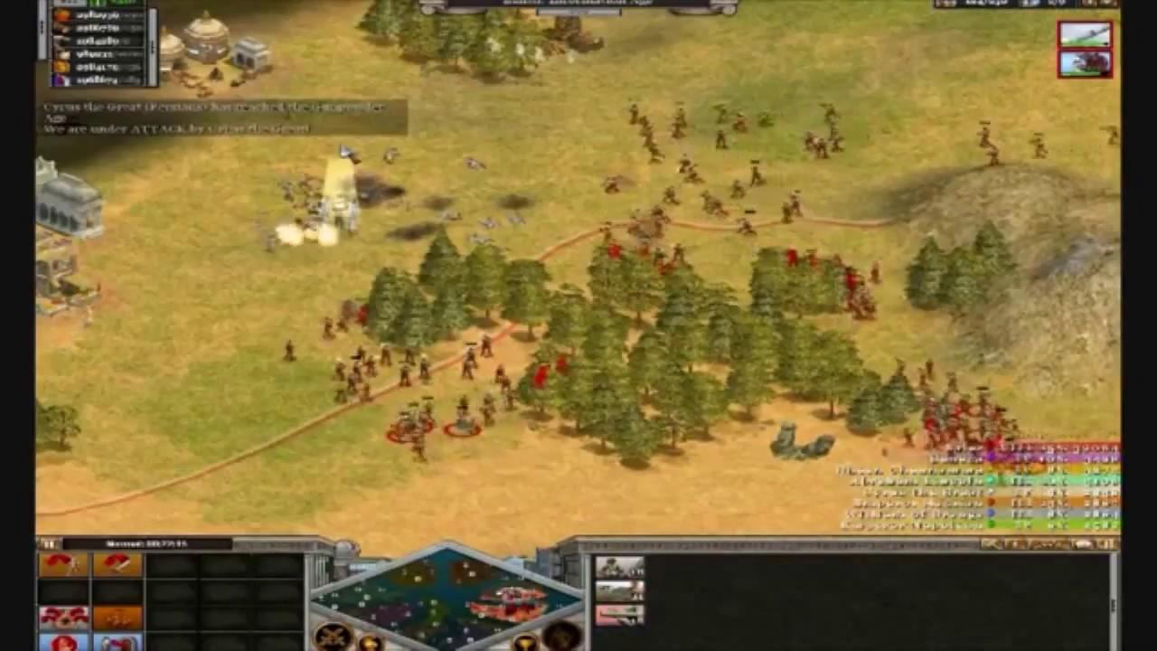 Rise Of Nations Online Free