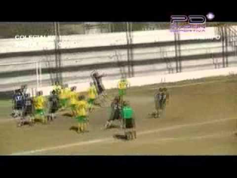 Colegiales 1 Sta  Rita 0    11ª fecha Liga Fútbol Villa Mercedes