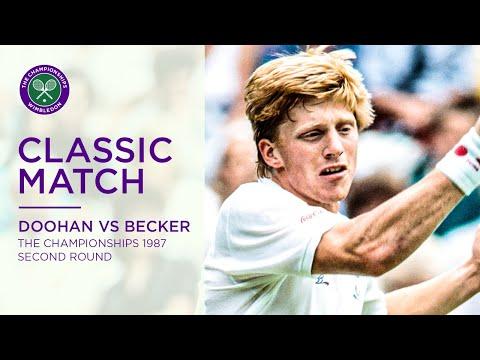 Peter Doohan Vs Boris Becker Rd.64 1987