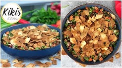Fattousch Rezept | libanesischer Salat | libanesisches Fladenbrot | Salat Ramadan Rezepte Iftar #9