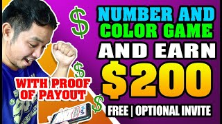 KUMITA NG $5 to $200 BY COMBINING COLOR AND NUMBER GAMES! WITH PROOF OF INCOME! OPTIONAL ANG INVITE