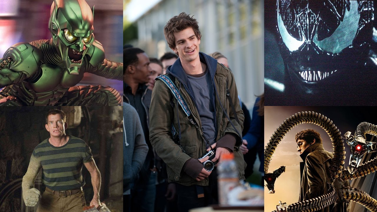 andrew garfield names his favorite spider-man villains - youtube