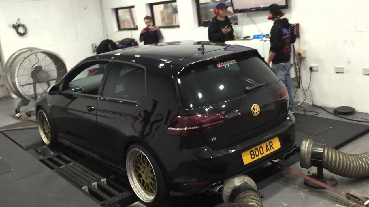 mk7 golf r dyno milltek decat youtube. Black Bedroom Furniture Sets. Home Design Ideas