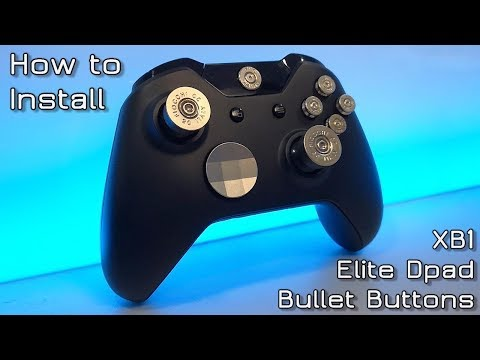 How To Install Xbox One Bullet Buttons And Elite Dpad