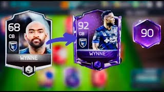 68 SILVER WYNNE to 92 MASTER WYNNE - Best Cheap Budget Beast CB Upgrade Series - Fifa mobile S2 iOS