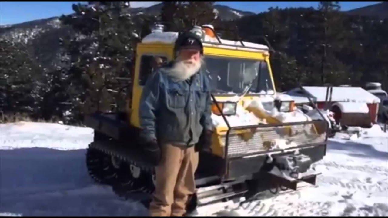 1976 Bombardier Bombi Snowcat Youtube