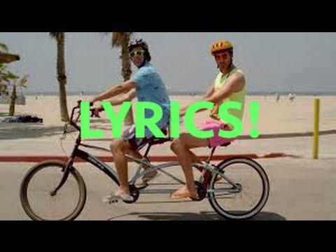 I'm On Vacation LYRICS!!!! By: Rhett and Link