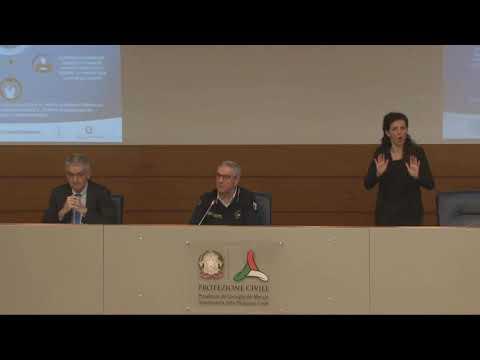 Coronavirus, conferenza stampa della protezion civile